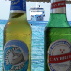 Two fine Cayman Brews