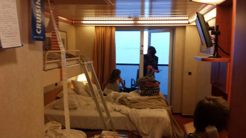 Balcony Cabin 8140 On Carnival Miracle Category 8k