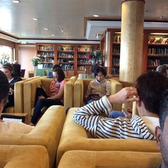 East Indies Library on Norwegian Jewel