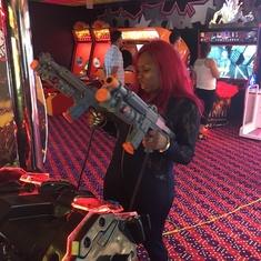 Video Arcade on Carnival Glory