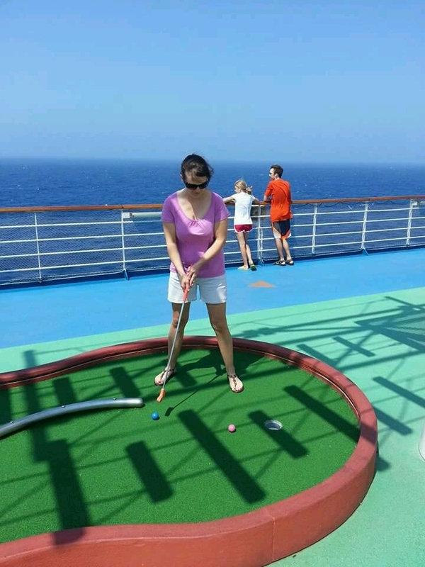 My beautiful wife! - Carnival Magic