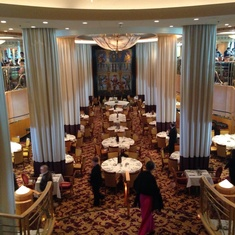 Minstrel Dining Room on Brilliance of the Seas