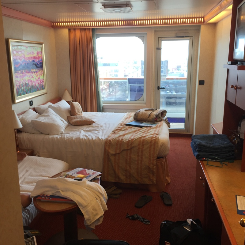 Balcony Cabin 8270 on Carnival Freedom, Category 8D  Carnival Freedom Staterooms