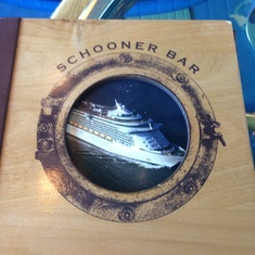 Schooner Bar on Majesty of the Seas