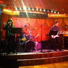 Club Cool Jazz Club on Carnival Spirit