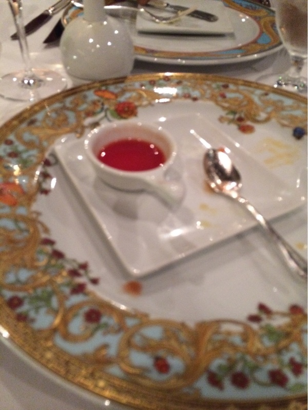 Fine dining - Carnival Conquest