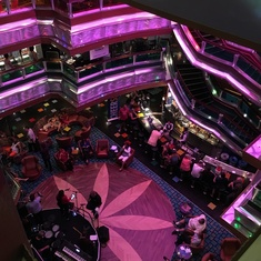 The Colors Lobby on Carnival Glory