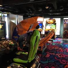 Video Arcade on Norwegian Breakaway