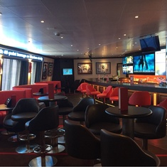 Skybox Sports Bar on Carnival Victory