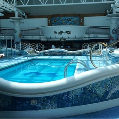 Calypso Reef And Pool on Golden Princess