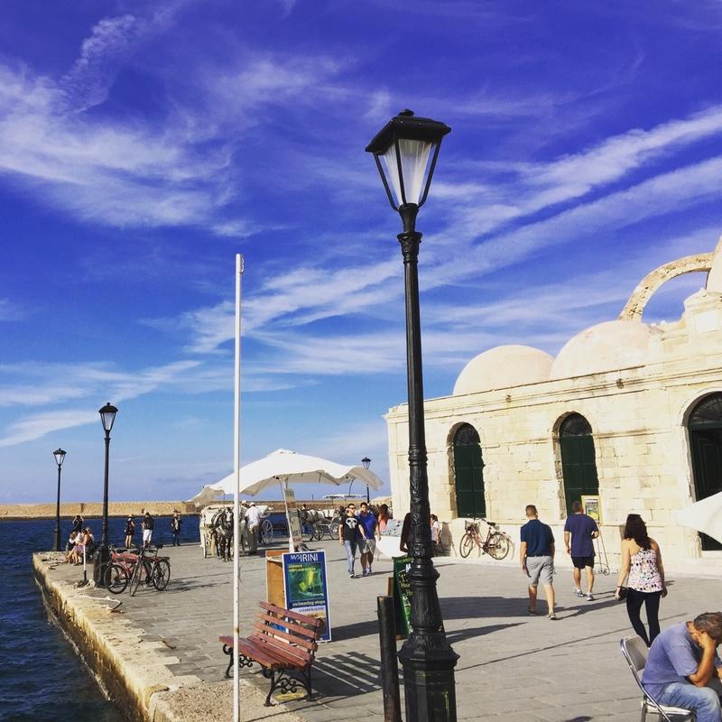 Beautiful weather in Crete!