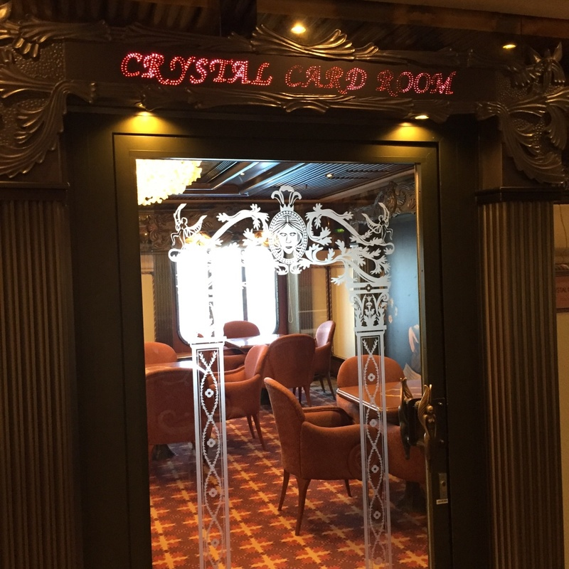 Carnival Pride, More Ship Features, Crystal Card Room