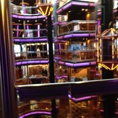 Grand Atrium on Carnival Fascination