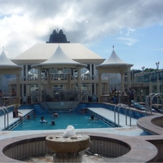 Tivoli Pool on Norwegian Spirit