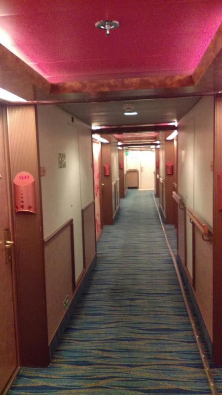 Oceanview Cabin 1245 On Carnival Pride Category 6a