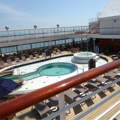 Lido Pool on Prinsendam