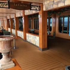 La Cucina on the Waterfront on Norwegian Breakaway