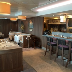 Ocean Blue by Geoffrey Zakarian on Norwegian Breakaway