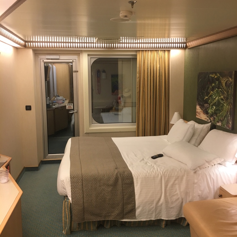 Balcony cabin 12016 on carnival magic category 89 for Balcony cabin cruise deals