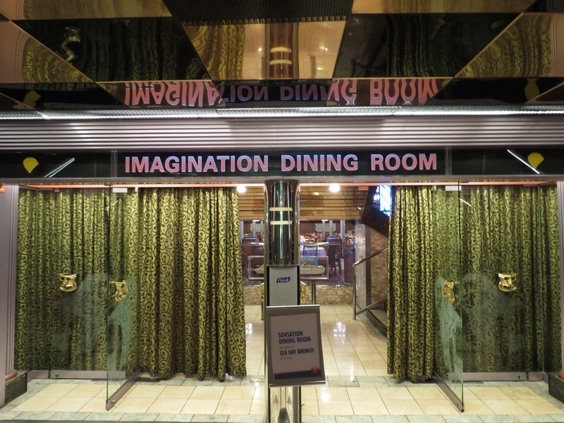 Imagination Dining Entrance - Carnival Fascination