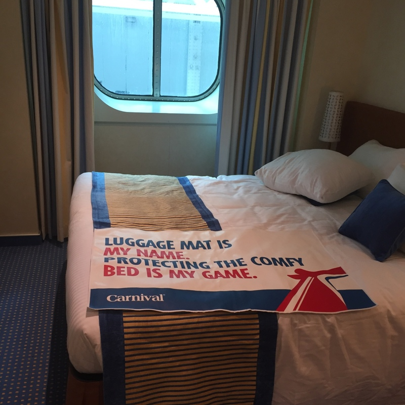 Oceanview Cabin 1265 on Carnival Vista Category 6Y