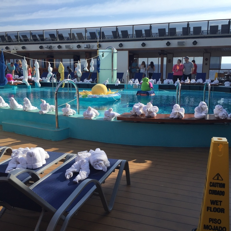 Carnival Pride, Pools, Venus Lido Pool