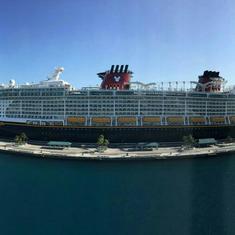 Balcony Cabin 8628 on Disney Dream, Category 4B on