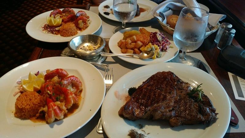Bayou Cafe & Steakhouse on Island Princess