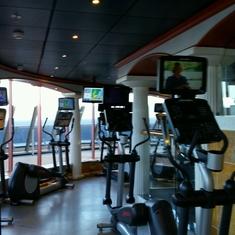 Gymnasium/Fitness Studio on Carnival Legend