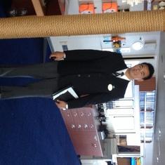 Concierge Patrick Berido