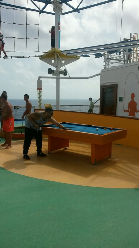 breezin in the caribbean - Carnival Breeze