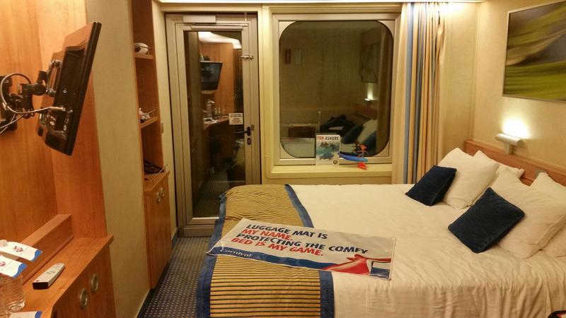 Balcony Cabin 6282 On Carnival Sunshine Category 8b