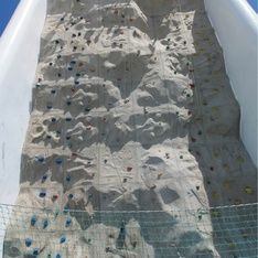 Rock Climbing Wall on Enchantment of the Seas