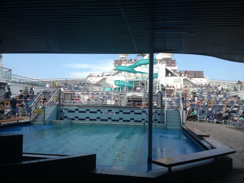 3/14/13 pool area - Carnival Victory