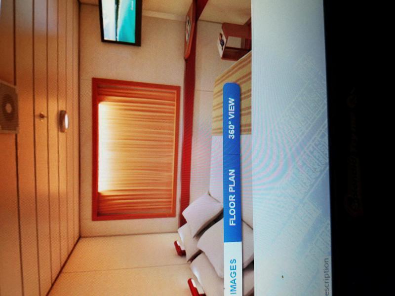 Carnival Fantasy cabin E212