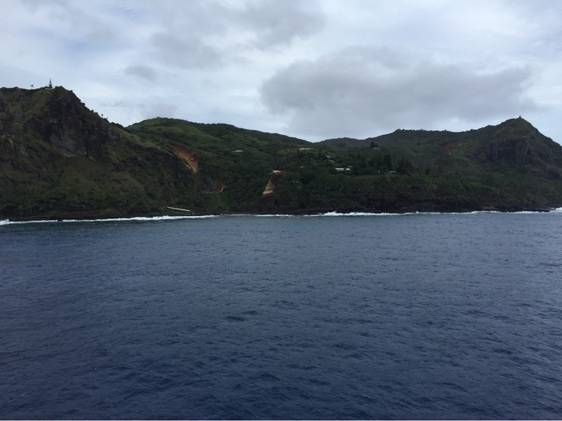 Pitcairn Island - many Bounty descendants visited the ship