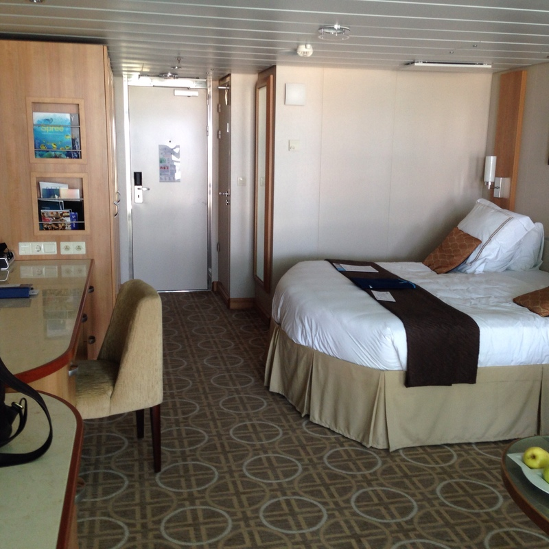 Celebrity Reflection cabins and suites | CruiseMapper