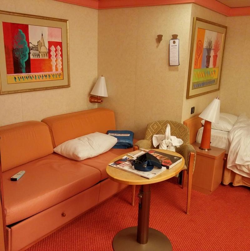 Carnival Glory cabin 2207
