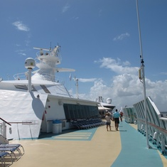 Jogging Track on Enchantment of the Seas
