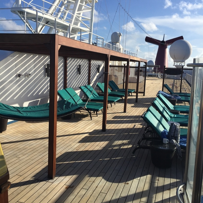 Serenity Deck - Carnival Glory