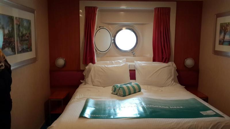 Oceanview Cabin 4580 On Norwegian Jade Category Of