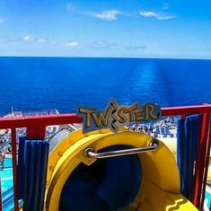 Slide Entrance on Carnival Fascination
