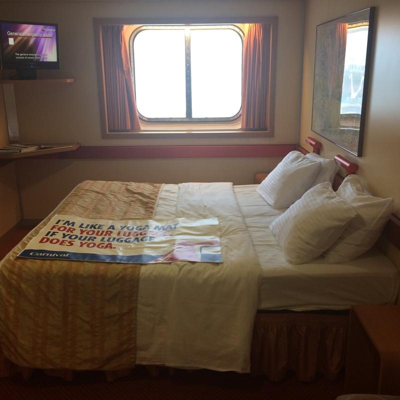 Carnival Fantasy cabin E244