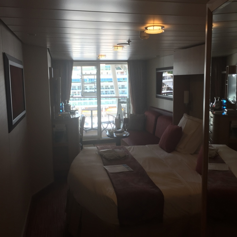 Balcony Cabin 1554 On Celebrity Solstice Category K1