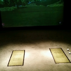 Golf Simulator on Independence of the Seas
