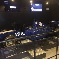 F1 Simulator on MSC Divina