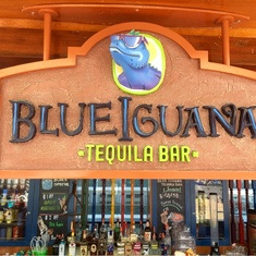 Blue Iguana Tequila Bar on Carnival Sunshine