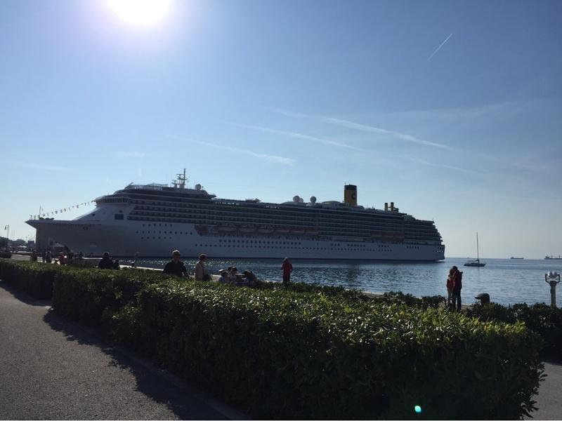 At port Trieste