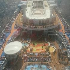 Solarium on Quantum of the Seas
