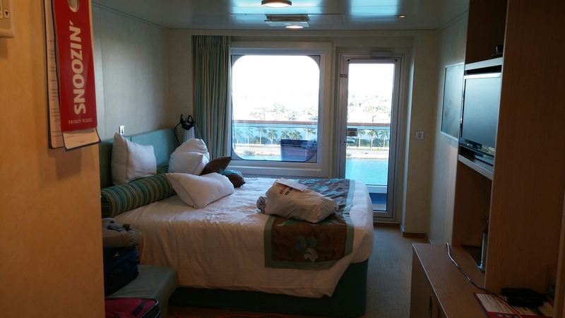 Carnival Breeze cabin 12038